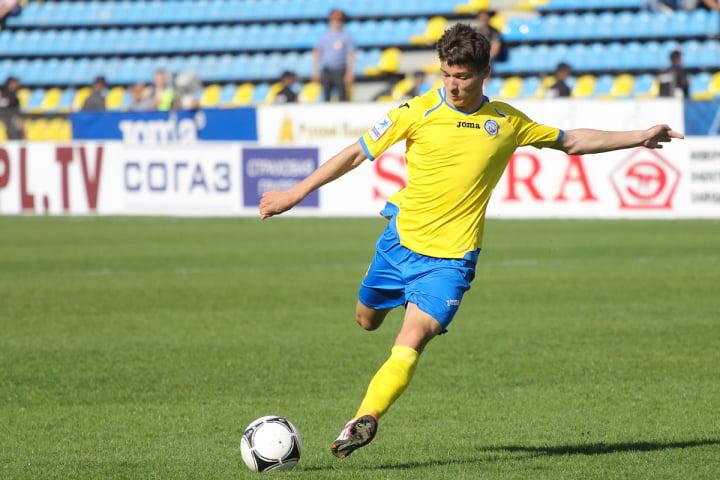 Dmitry Poloz, um dos homens em maior destaque na equipa do FC Rostov esta temporada Fonte: FC Rostov