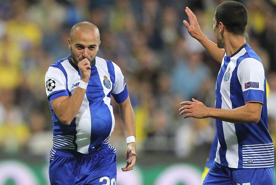 Mais um golo de André André que, frente ao Maccabi, desempenhou papel mais ofensivo Fonte: FC Porto