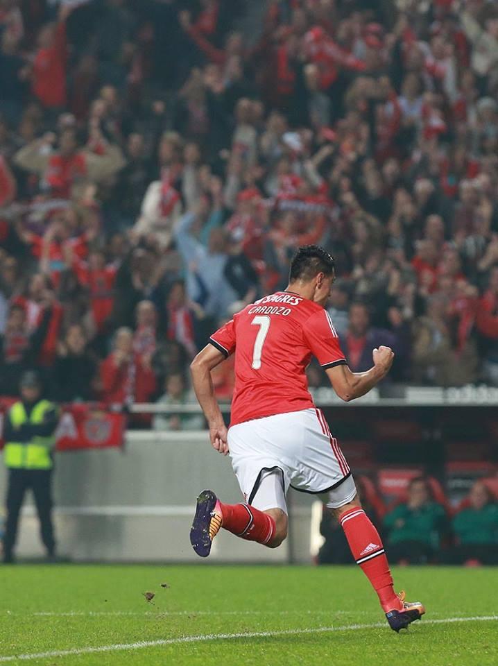 """""""Tacuara"""" Cardozo arrasou em 2013/14 Fonte: Sport Lisboa e Benfica"""