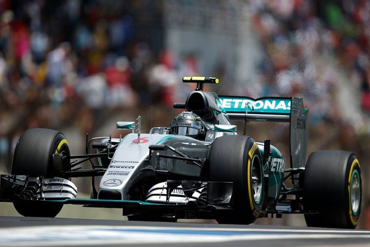 Nico Rosberg foi o grande vencedor do GP do Brasil Fonte: Mercedes AMG Petronas