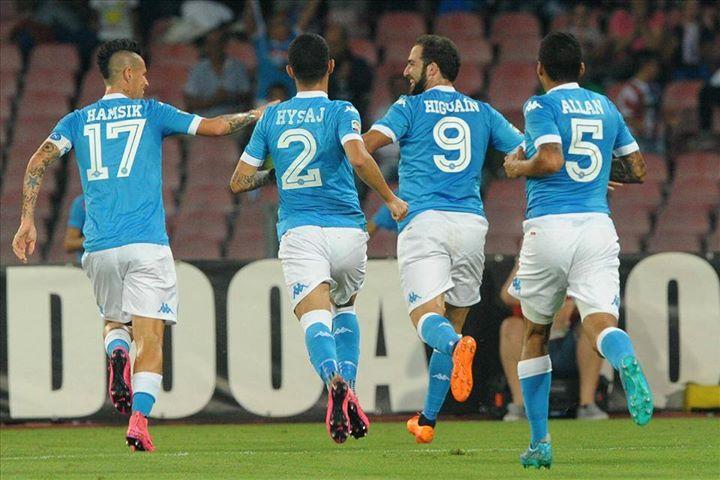 Nápoles sonha com o scudetto que não vence desde 1990 Fonte: SSC Nápoles