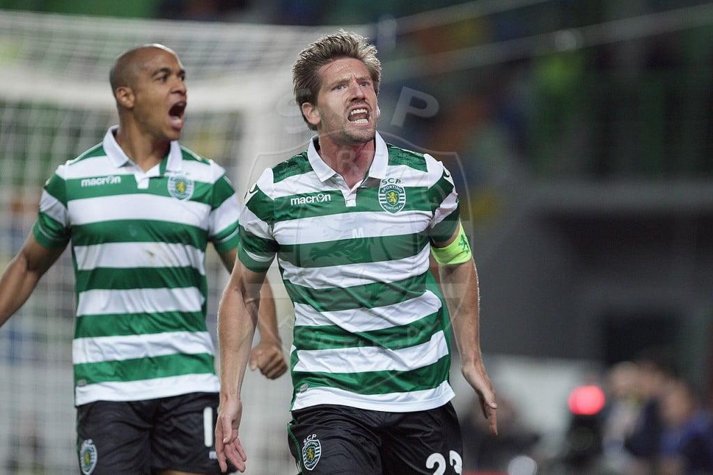 O capitão leonino tem sido decisivo no meio campo de Jorge Jesus Fonte: Sporting CP