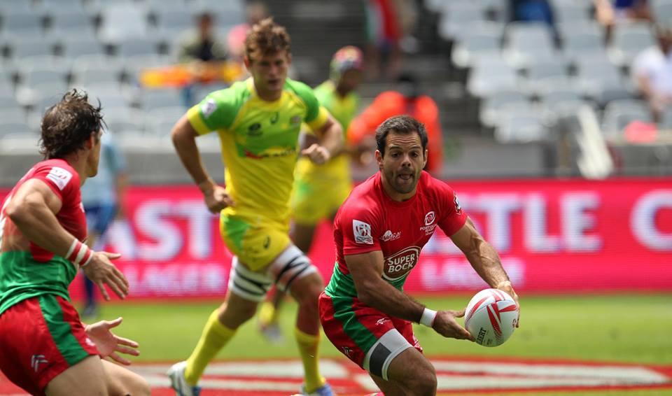 O capitão português foi, uma vez mais, um dos melhores jogadores lusos em competição Fonte: World Rugby Sevens Series