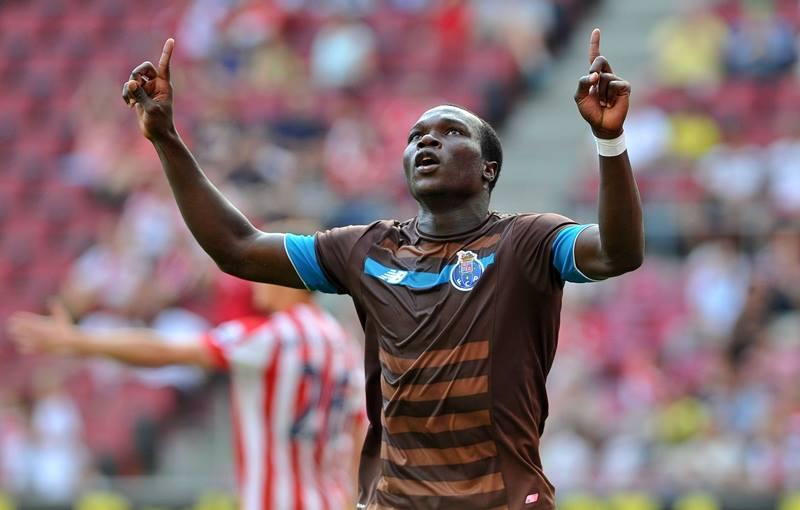 Valeu um golo de Aboubakar no meio do marasmo portista Fonte: FC Porto