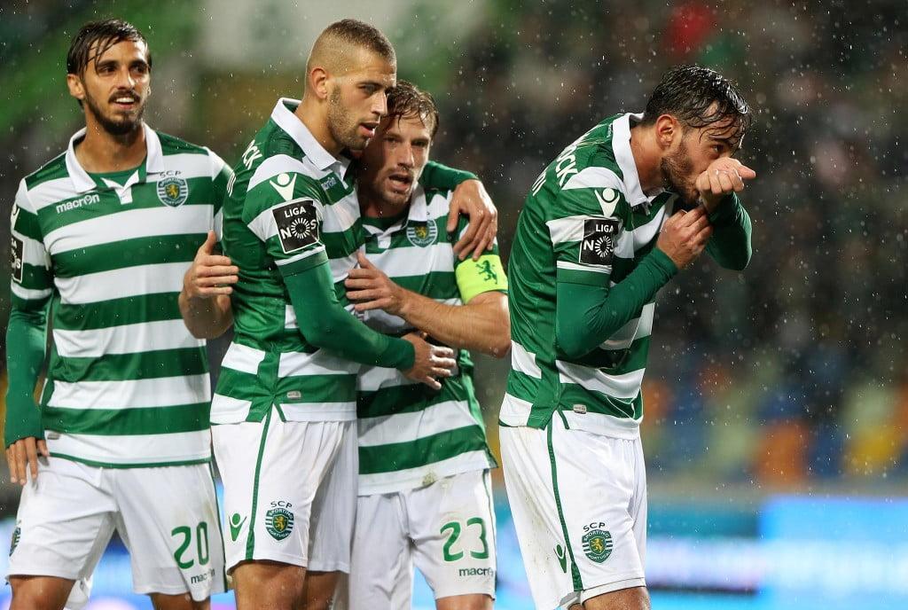 O golo de Alberto Aquilani tranquilizou o leão  Fonte: Sporting CP