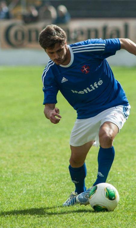 O número vinte da equipa do Restelo marcou o (grande) golo da vitória Fonte: Facebook de Filipe Ferreira