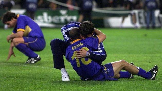 Hermes Desio foi o espelho da tristeza do conjunto vitoriano após a derrota com o Liverpool na final da Taça UEFA em 2001