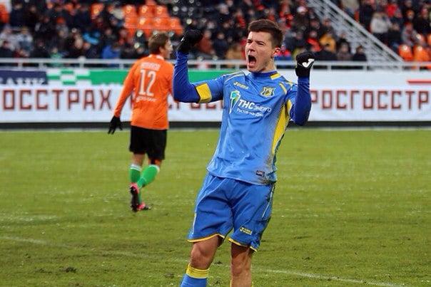 Dmitri Poloz, um dos homens em maior destaque no FC Rostov esta temporada Fonte: vk.com
