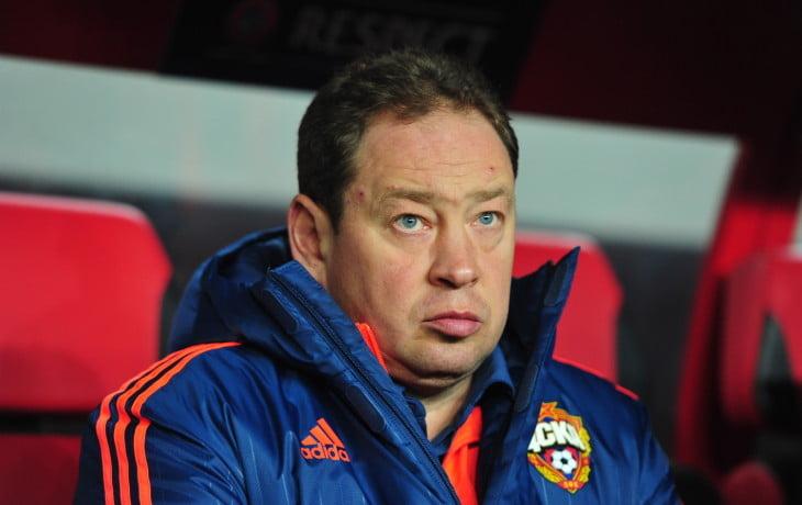 Os fantasmas do passado assombram o técnico do CSKA Moscovo,Leonid Slutsky Fonte: sovsport.ru