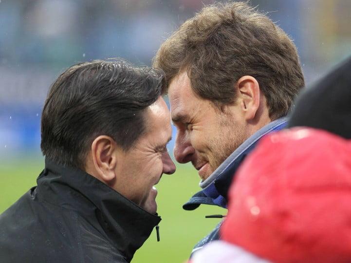 André Villas-Boas e Dmitri Alenichev, dois dos homens em maior destaque na Liga Russa esta temporada Fonte: sovsport.ru