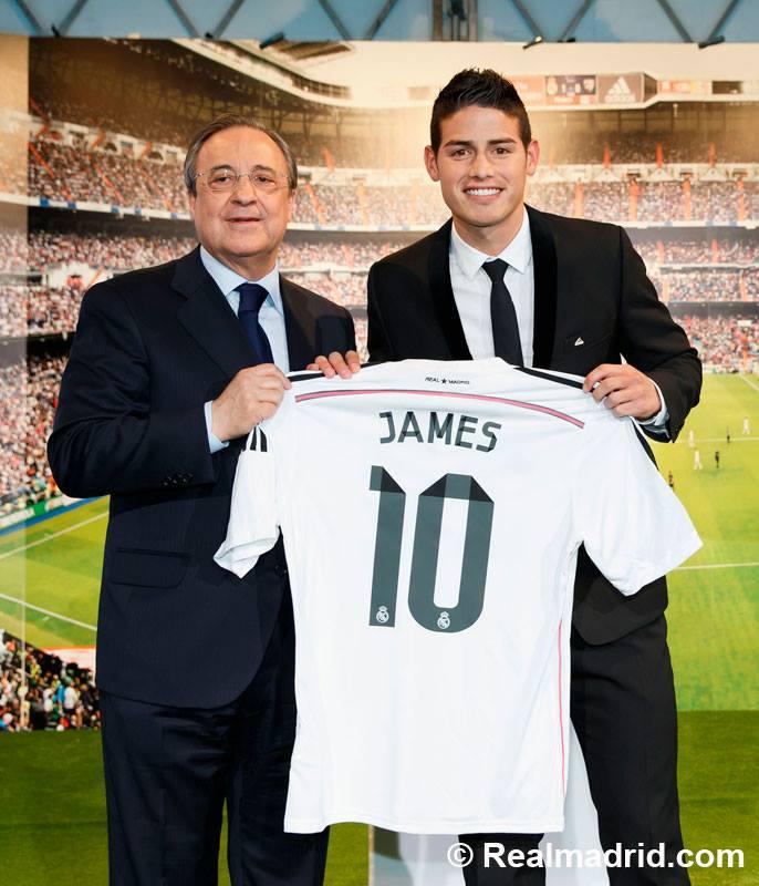 Florentino não poderá contratar jogadores na próxima época. Fonte: Real Madrid FC