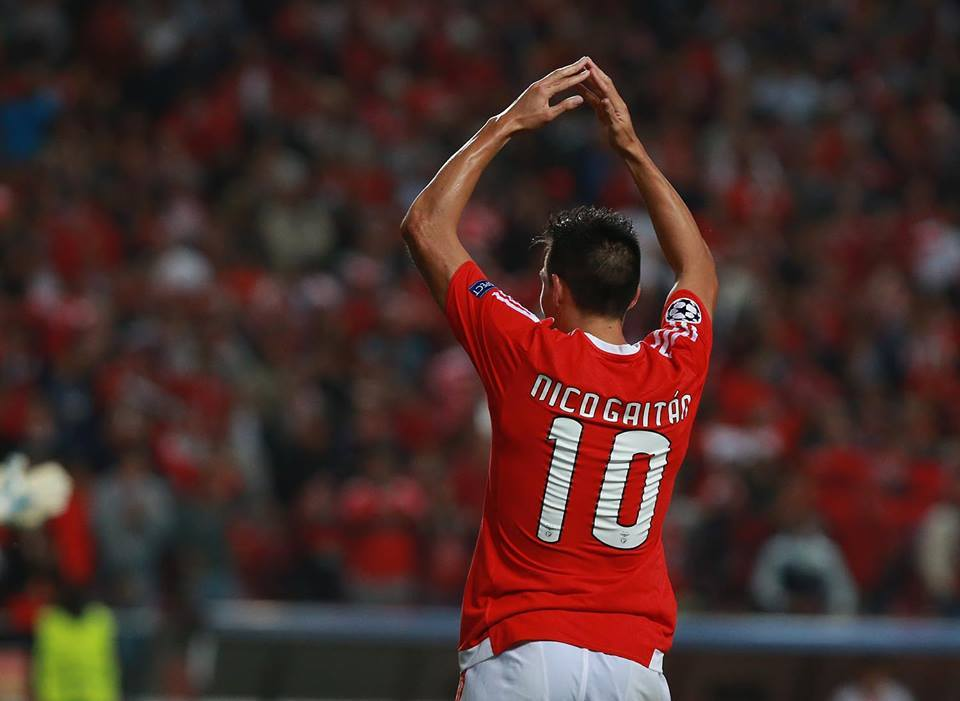 Nico regressou à titularidade e aos golos Fonte: Sport Lisboa e Benfica