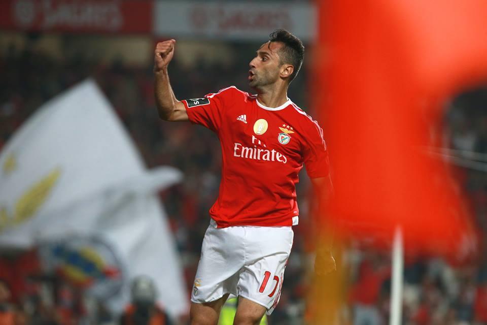 Mais dois de Jonas... Matador! Fonte: Sport Lisboa e Benfica