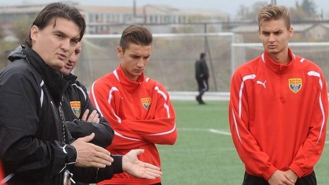 O clã Babunski – Boban, David e Dorian Fonte: uefa.com