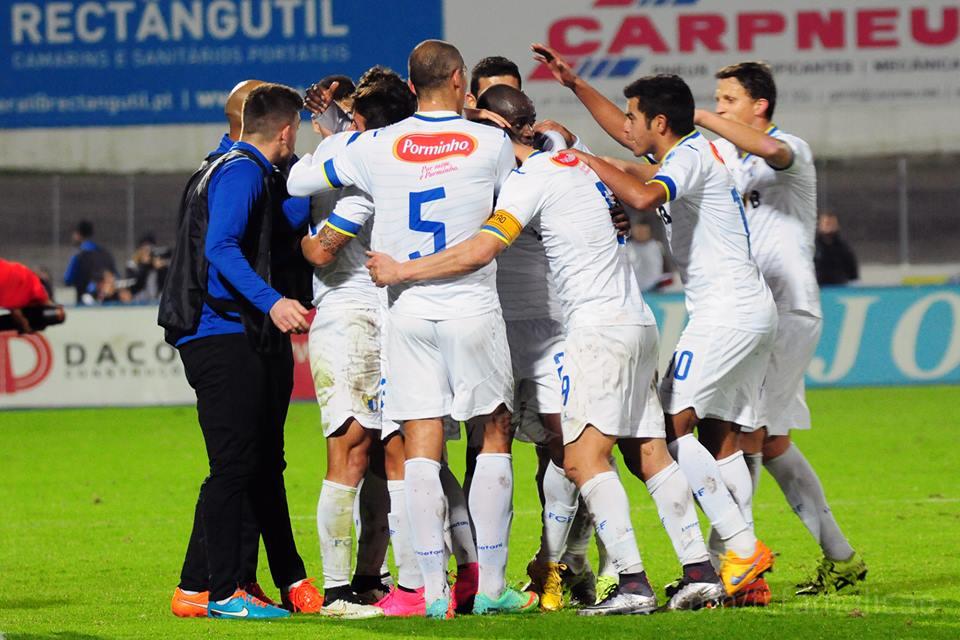 Os jogadores do FC Famalicão é que fizeram a festa Fonte: FC Porto