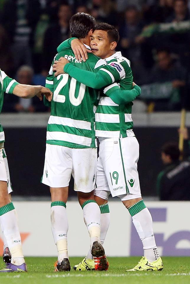 Bryan está claramente em muito melhor forma que Teo. O colombiano tem de ficar no banco. Fonte: Sporting CP