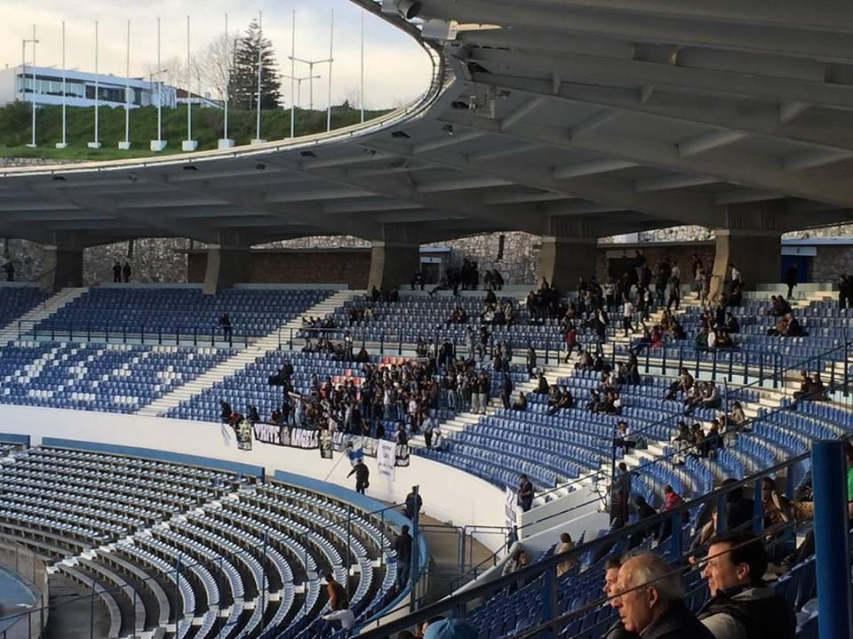 Os adeptos do Vitória SC não pararam de apoiar a equipa vimaranense