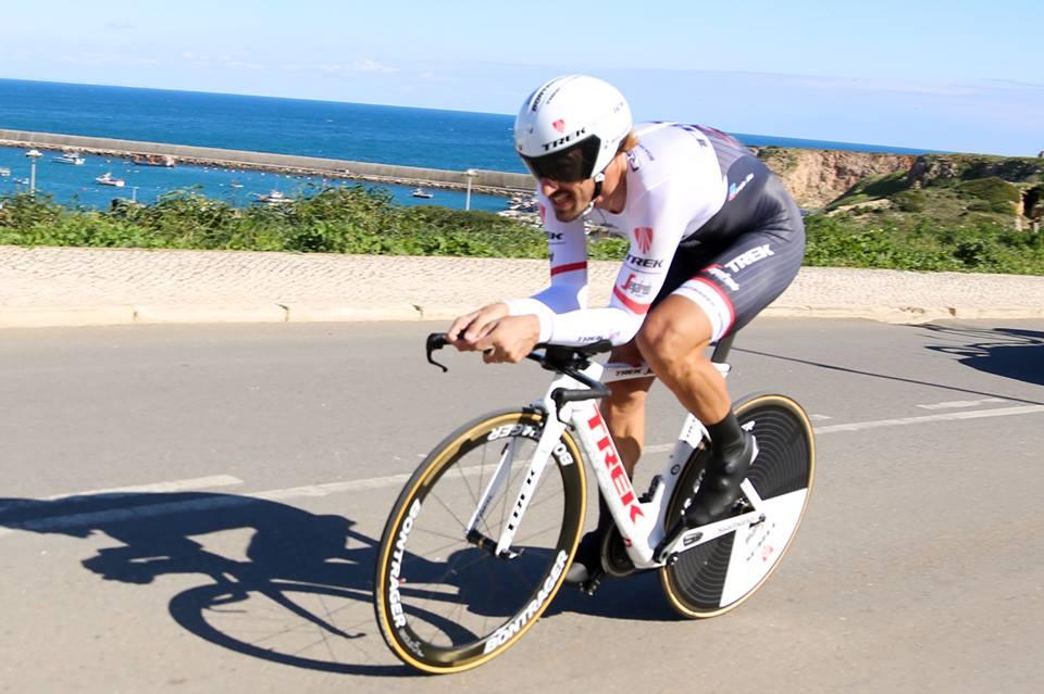 Cancellara venceu mais um contrarrelógio na sua já longa e excelente carreira, que terminará esta época Fonte: Volta ao Algarve