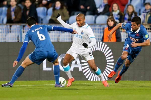 Brahimi foi dos melhores em campo do lado dos dragões  Fonte: FC Porto
