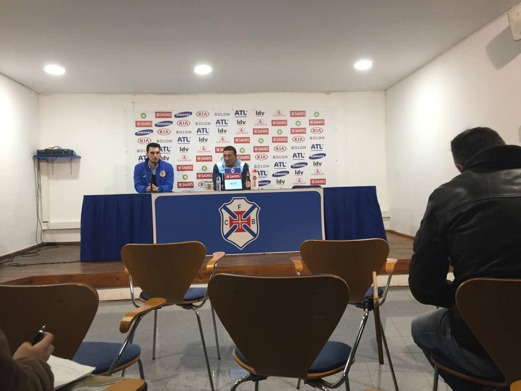 Lito fez uma conferência de imprensa muito focada no Belenenses