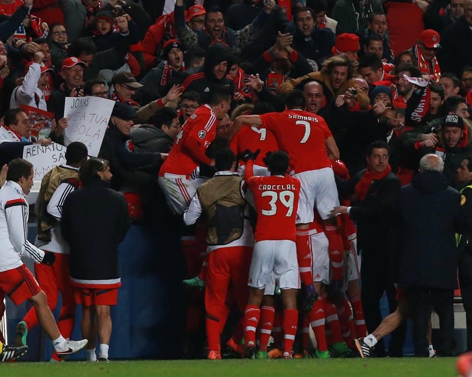 As vitórias justas e seguras pós-FC Porto confirmaram a qualidade deste grupo; Fonte: #SLBenfica