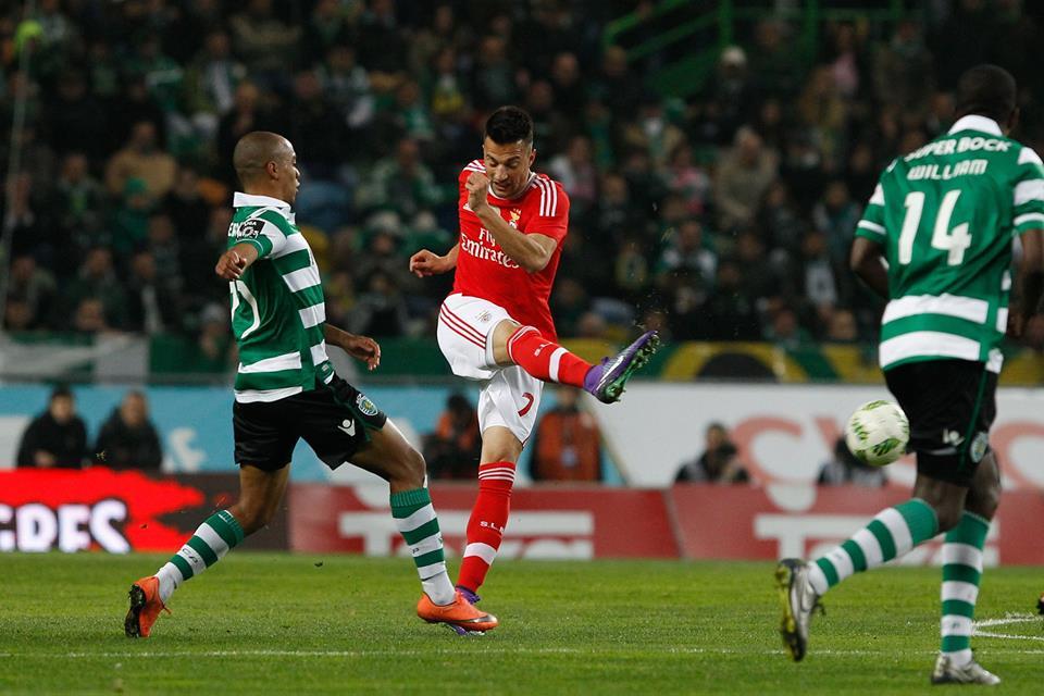 Samaris foi dos melhores em campo Fonte: SL Benfica
