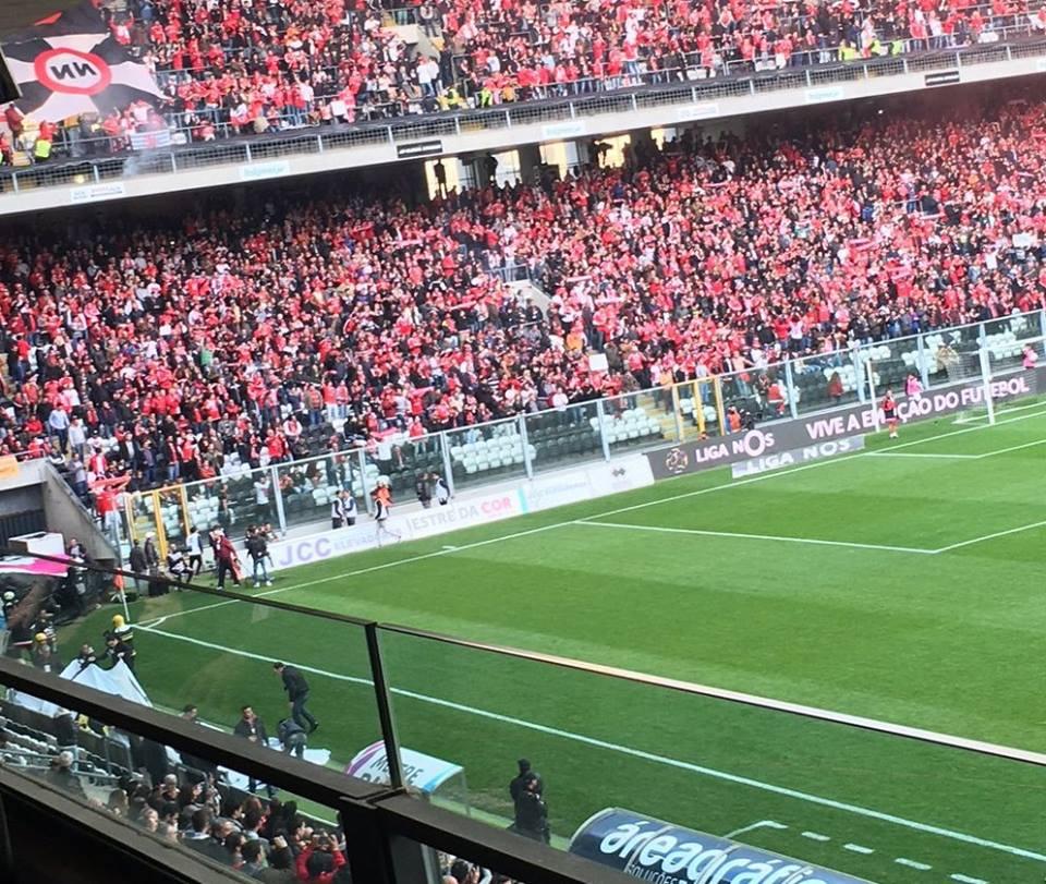 Mais uma maré encarnada por esse Portugal fora... Fonte: #SL Benfica