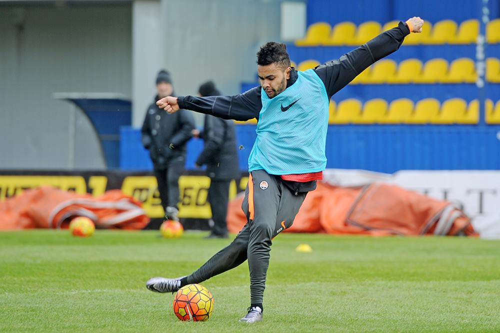 """Dentinho faz parte da significativa """"armada"""" brasileira do Shakhtar Fonte: FC Shakhtar"""
