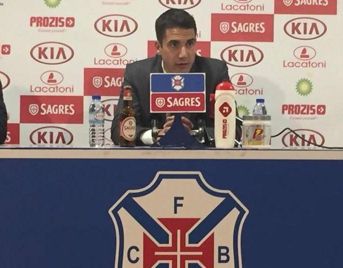 Julio Velázquez estava encantado com a equipa do Restelo
