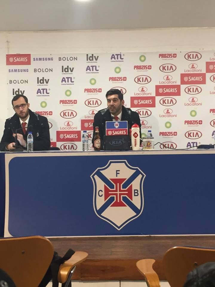 Paulo Fonseca ficou desiludido com o resultado da partida