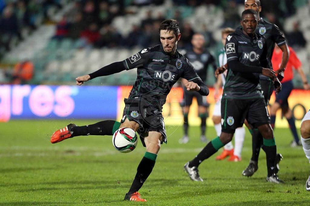 Paulo Oliveira já jogou pela equipa B nesta temporada Fonte: Sporting CP
