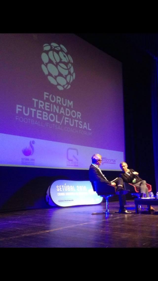 Fernando Santos à conversa com Henrique Calisto