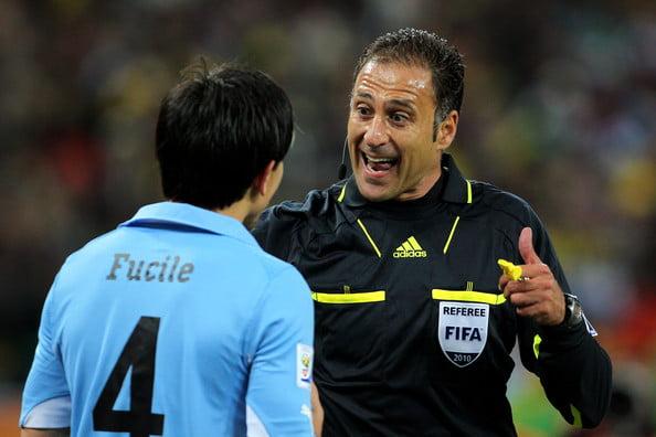 Olegário Benquerença esteve no Euro'2008 e Mundial'2010 Fonte: FIFA World Cup