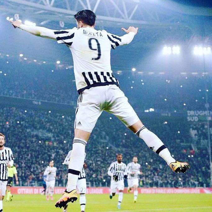 Morata já fez 40 jogos pela Juventus esta época, nos quais marcou 10 golos Fonte: Juventus FC