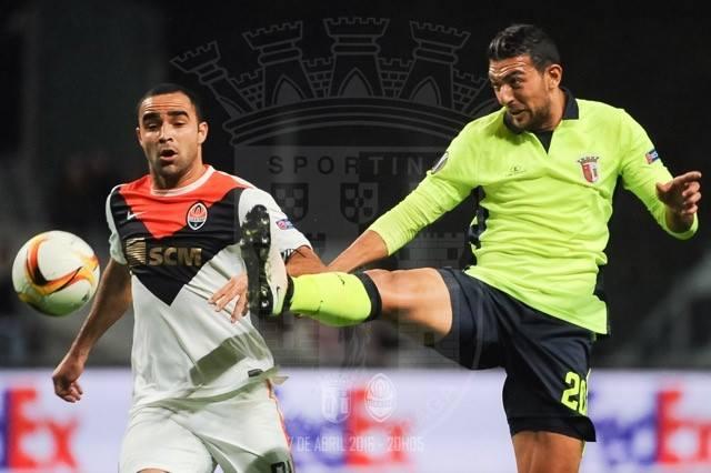 Hassan não esteve nos melhores dias Fonte: SC Braga