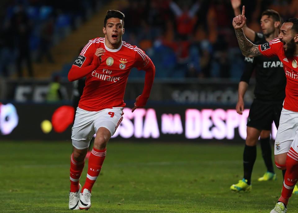 O mexicano foi decisivo Fonte: SL Benfica