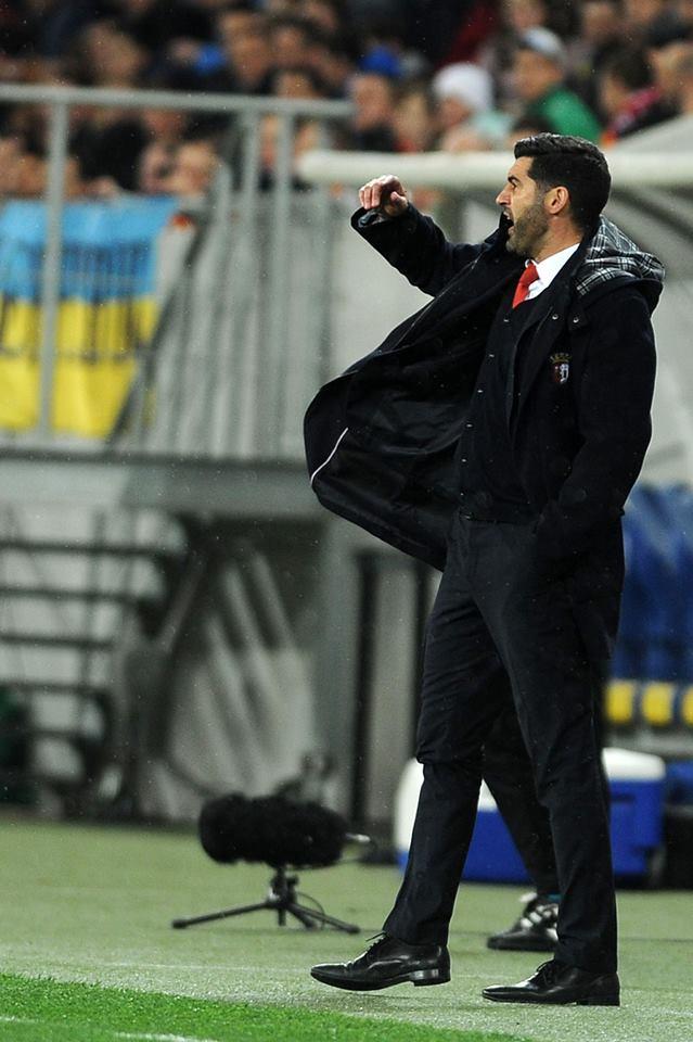Paulo Fonseca e os seus jogadores ainda têm muito pela frente Fonte: SC Braga
