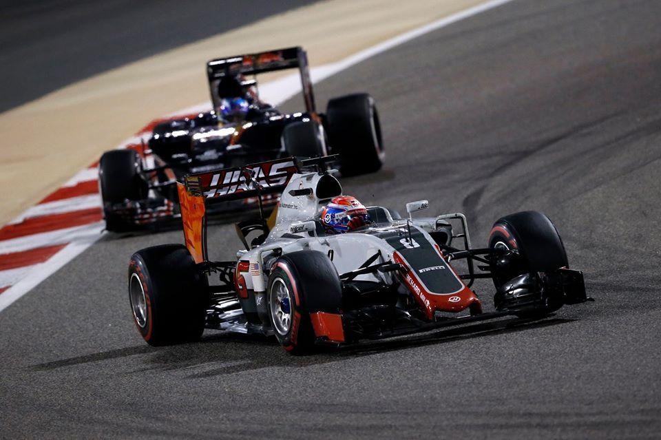 Grosjean foi o melhor piloto em pista Fonte: F1