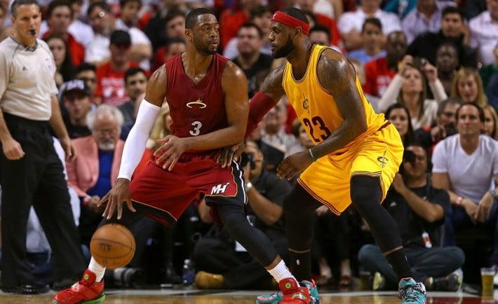 Miami Heat e Cleveland Cavs são as equipas apontadas à final de Conferência Fonte: NY Times