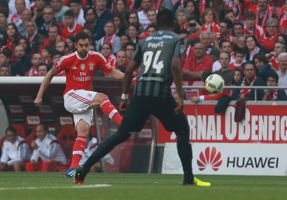 Jardel resolveu uma partida muito difícil Fonte: SL Benfica