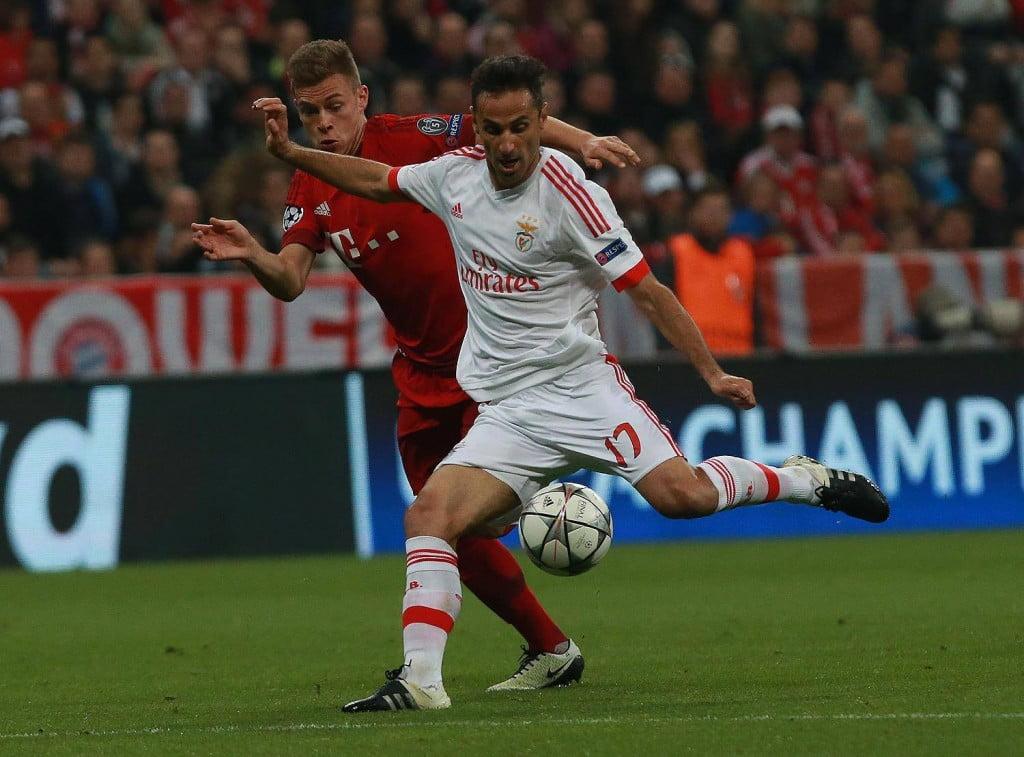 Jonas foi um dos melhores em campo no jogo de Munique Fonte SL Benfica