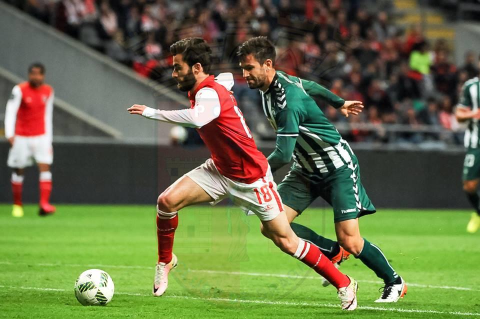 Rafa brilhou ao serviço do SC Braga Fonte: SC Braga