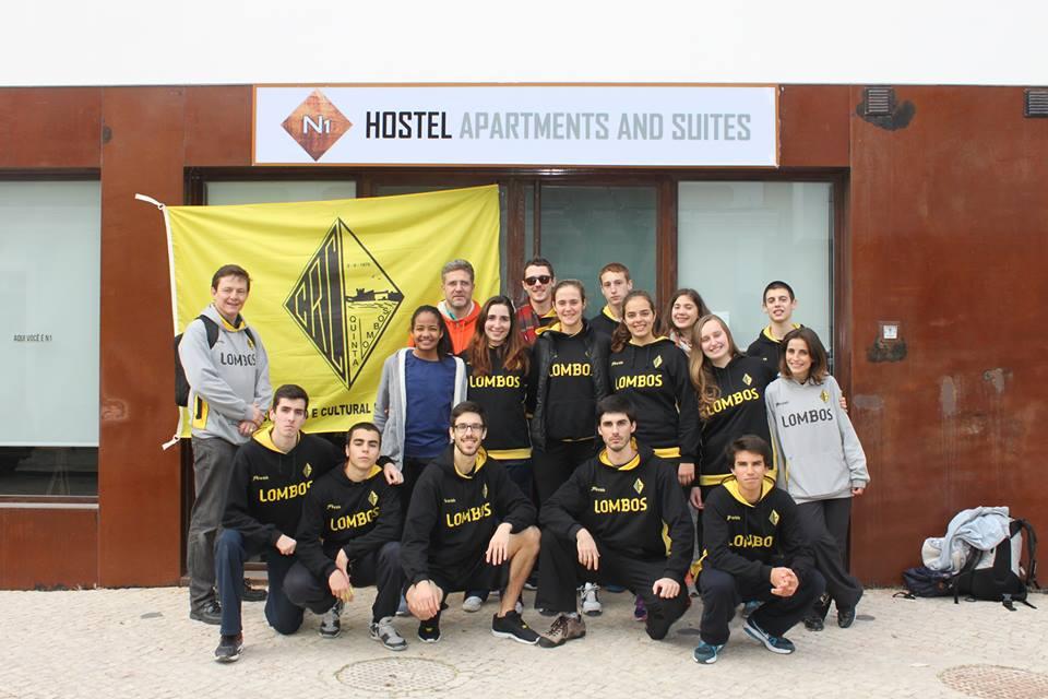 A equipa da Quinta dos Lombos Fonte: Corfebol CRCQL Quinta dos Lombos