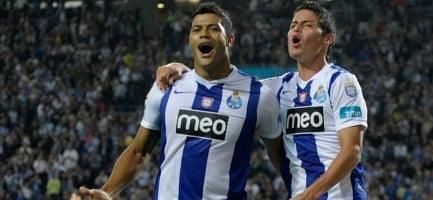Hulk e James fazem falta ao FC Porto Fonte: FC Porto