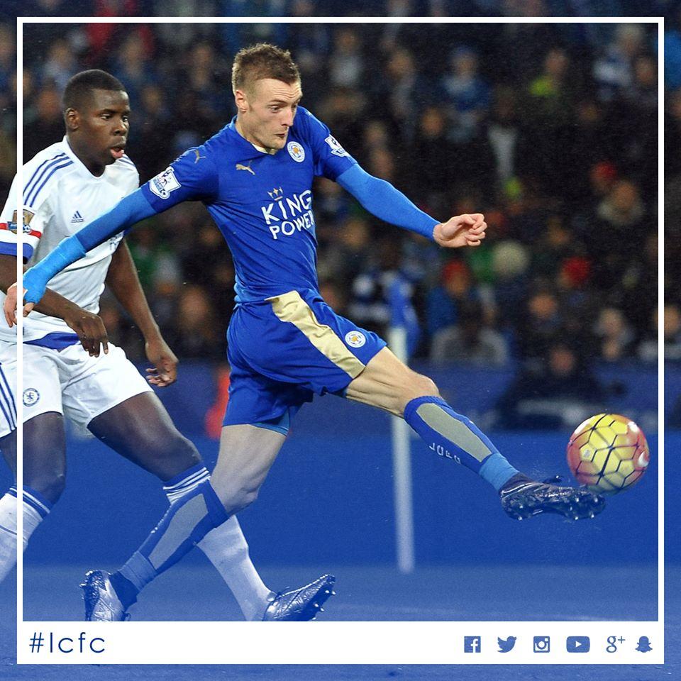 Jamie Vardy ganha 101 mil euros por semana Fonte: Leicester City FC