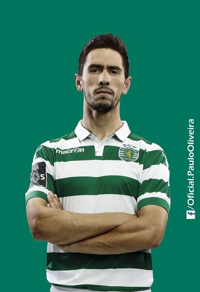 Paulo Oliveira foi uma das surpresas de Jorge Jesus para o dérbi Fonte: Sporting CP
