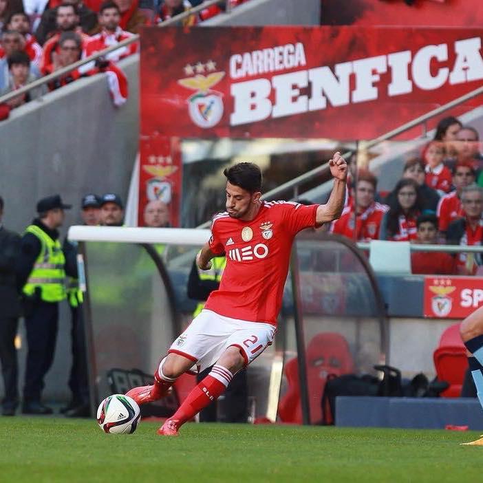 Pizzi é um dos jogadores imprescindíveis para Rui Vitória Fonte: SL Benfica