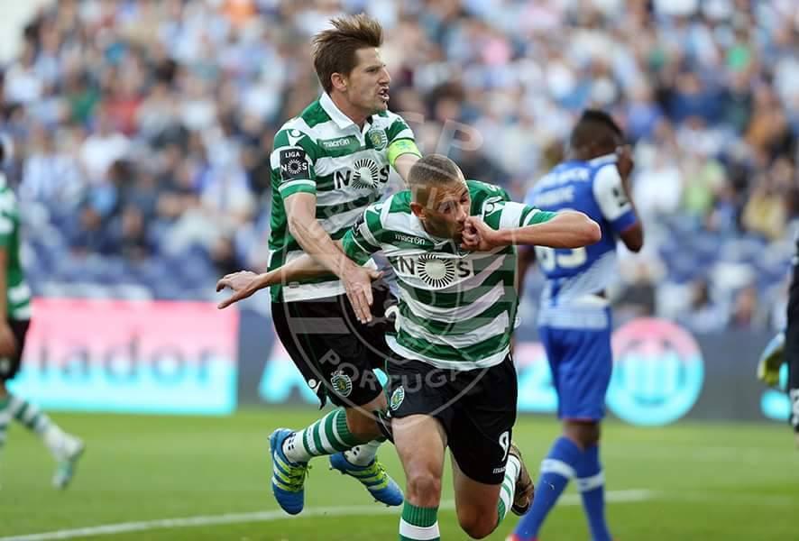 Slimani foi novamente decisivo no jogo frente ao FC Porto Fonte: Sporting CP