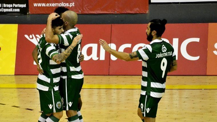 O Sporting garantiu uma vitória tranquila no pavilhão do Belenenses Fonte: Sporting CP