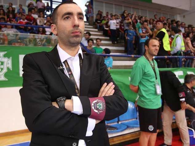 Joel Rocha, atual treinador do Benfica, ainda no clube beirão-Fonte: modalidades.com.pt